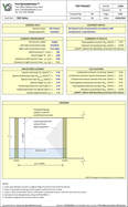 masonry column and beam Wi System design spreadsheet to EN1996-1-1